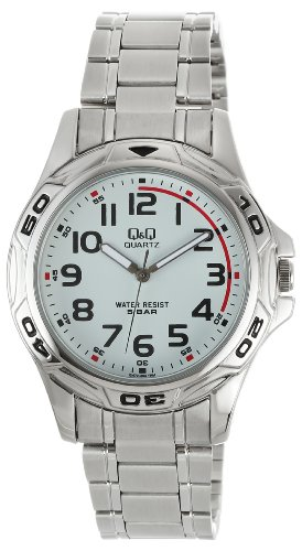 Q&Q Analog White Dial Men's Watch - Q472N204Y image
