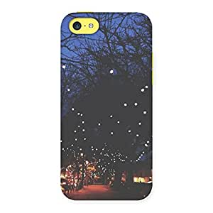 Neo World Pretty Street Lights Back Case Cover for iPhone 5C