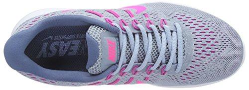 Nike Lunarglide 8, Scarpe da Corsa Donna Grigio (Blue Grey/Pink Blast-Blue Tint-Ocean Fog)