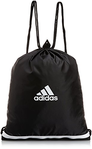 Adidas Tiro - Sacca sportiva, Unisex, Sportbeutel Tiro, Black/White, 40 x 50 x 2 cm, 10 Liter