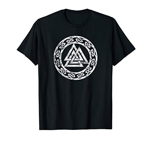 Valknut Odin Symbol Wikinger Pagan Nordische Mythologie T-Shirt