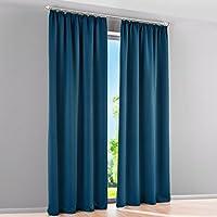 Suchergebnis auf Amazon.de für: Blau - Gardinen / Fensterdekoration ...