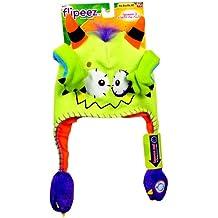 Gorrito Flipeez - Modelo: Monstruo. Color verde manzana