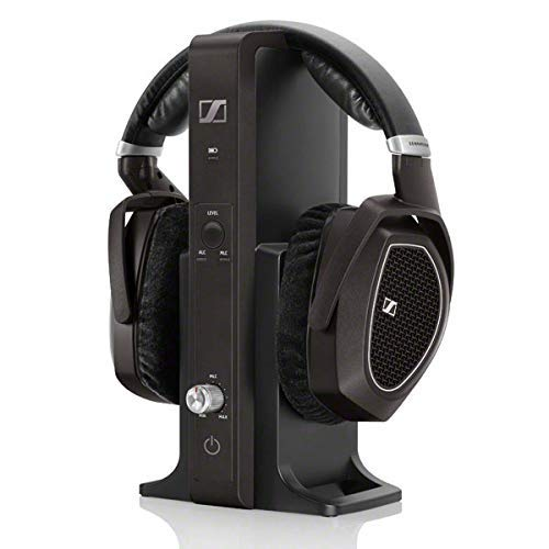 Sennheiser RS 185 Cuffia Wireless, Tecnologia Digitale, Nero