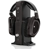 Sennheiser RS 185 - Auriculares de diadema abiertos (control remoto integrado), negro