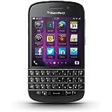 Blackberry Q10 Smartphone (7,9 cm (3,1 Zoll) AMOLED, Cortex-A9, Dual-Core, 1,5GHz, 2GB RAM, 16GB, 8 Megapixel Kamera, QWERTZ, BlackBerry 10 OS) schwarz