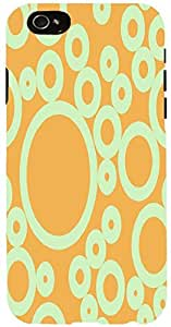 Snoogg bubbles pattern design 2208 Case Cover For Apple Iphone 6 iphone 6