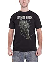 Linkin Park hunting party Bow And Arrow Official Mens New Black T Shirt