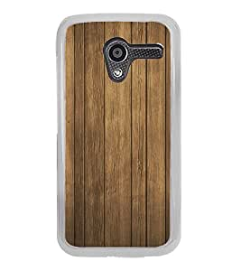 Fuson Brown Teak Wood Designer Back Case Cover for Motorola Moto X :: Motorola Moto X (1st Gen) XT1052 XT1058 XT1053 XT1056 XT1060 XT1055 (Wooden Background)