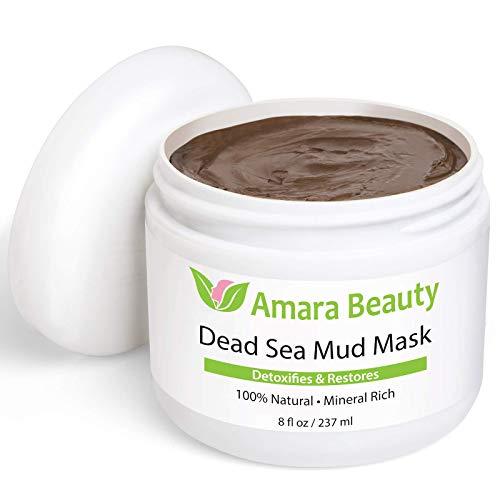 Amara Organics Totes Meer Schlamm Maske für Gesicht und Körper
