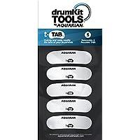 Aquarian TA1 Tone Tab - Adhesivos reductores de armónicos, 5 adhesivos reutilizables