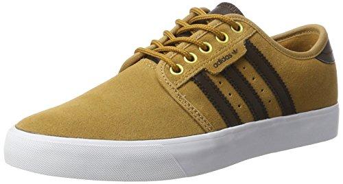 adidas Herren Seeley Skateboardschuhe Braun (Mesa/dark Brown/ftwr White) wujaKbhm