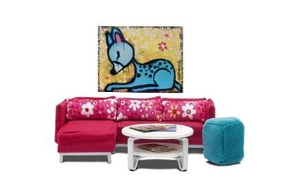 Lundby 60.9023.00 Stockholm - Muebles de salón para casita de muñecas de Lundby