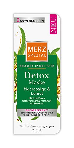 Merz Spezial Beauty Institute Detox Maske, 10er Pack (10 x 10 ml)