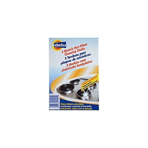 Delufix Kochplatten-Putzlinge 3 Stück 2-er Pack