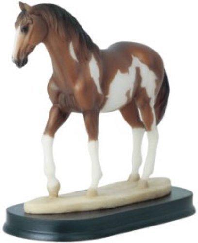 54Pferde Kollektion braun Pferd Figur Dekoration Decor Sammlerstück (Colts-dekor)