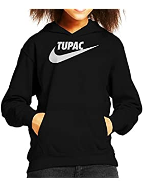 Tupac Shakur Nike Tick Logo Kid's Hooded Sweatshirt