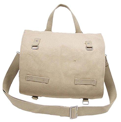 MFH Messenger Bag, Kampftasche Bw  Groß Woodland 34 x 24 x 12 cm Khaki