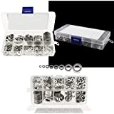 DIY Crafts 1000pcs Flat Washers M2 M2.5 M3 M4 M5 M6 M8 M10 Assortment Set