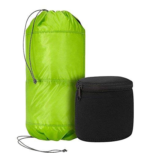Trekmates Sac fourre-Tout 2 Tier Micro Lite Stuff Bag Vert 1 x 1 x 1 cm 10 l - 16223