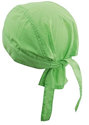 Myrtle Beach Bandana Kopftuch, Biker Hat, Piratentuch, 16 Farben Lime Green,1 St?ck