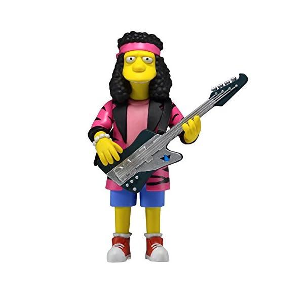"NECA Simpsons 25th Anniversary Series 4 Otto Mann (Rock Camp Otto) 5"" Core Action Figure 1"