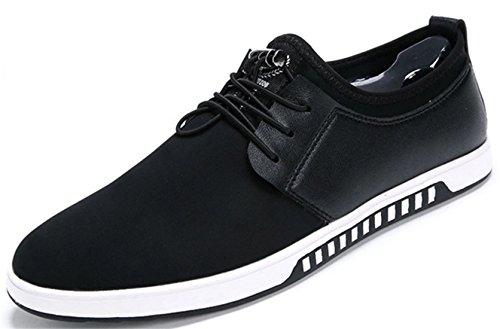 DADAWEN Sneakers Basses Mixte Adulte Noir
