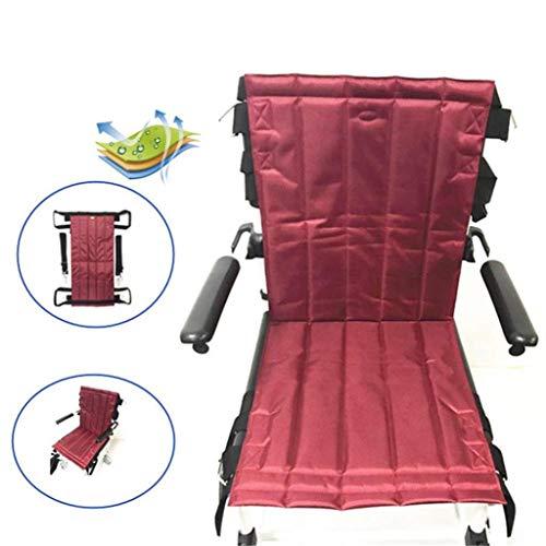 ZENGZHIJIE Patientenlift Treppenrutsche Bretttransfer Notfall Evakuierungsstuhl Rollstuhl Sicherheitsgurt Ganzkörper-Medizin Hebeschlaufe Rutschen Transferscheibe Verwendung für Senioren
