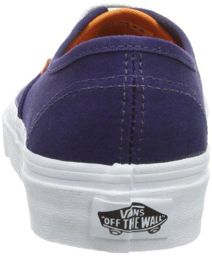Vans U AUTHENTIC (WASHED) BLACK VVOE4JT Unisex-Erwachsene Sneaker Blau ((Pop) patriot b)