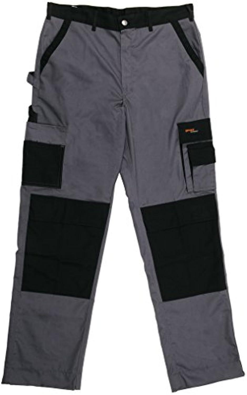 Gevavi Workwear GW0106520 GW01 Arbeitshose 52 Grau