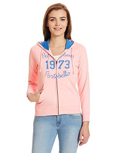Pepe-Jeans-Womens-Cotton-Sweatshirt-PIL0001600-4PinkSmall