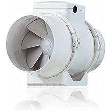 Extractor de Aire Con Ventilador Silencioso Vents BIturbo 15 cm-550m3-TT150/h