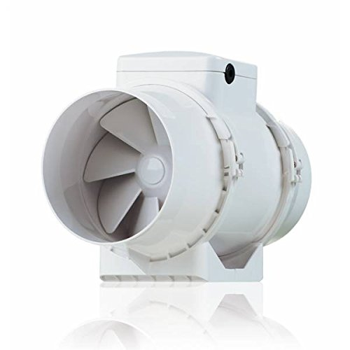 Silencieux D'aspirateur Air Vents BIturbo 15 cm-550m3/h-TT150