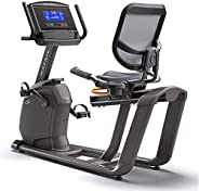 "Matrix Recumbent Bike R30xr with 8.5"" Extra-wide blu"