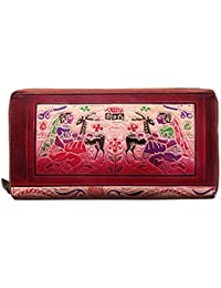 ABYS Rakshabandhan Gift-Genuine Leather Hand Printed Unisex Coin Purse||Passport Wallet||Passport Holder With...