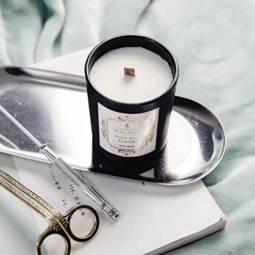Bougie D'Aromathérapie Romantique, Parfum De Cire De...