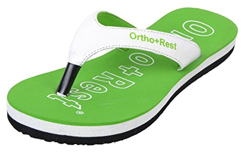 Ortho + Rest Women's Green Synthetic Casual Slippers - 7 UK