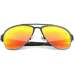 Menton Ezil Damen Sonnenbrille orange Orange