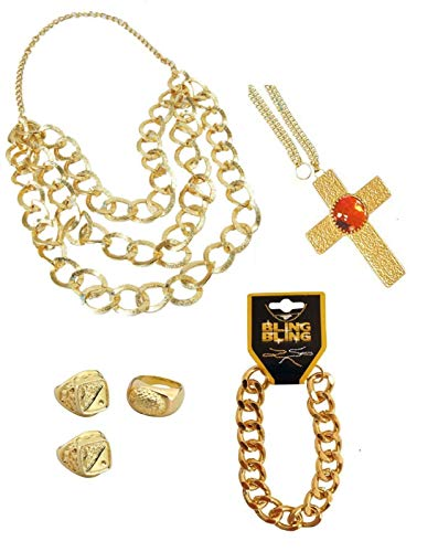 Mr T - A Team Jewellery Accessories Set
