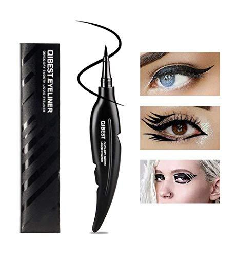 ASKSA Neue Eyeliner Pen, QIBEST Wasserdicht Eyeliner Stempel Liquid Eyeliner Gel Pen für Cat Eye Smokey ()