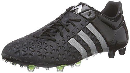 adidas Performance Ace 15.1 Fg/Ag Herren Fußballschuhe Schwarz (Core Black/Silver Met./Solar Yellow)