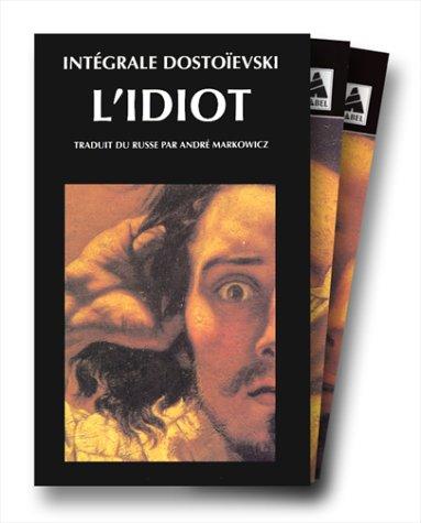 L'Idiot, coffret de 2 volumes (lecture de Michel Guérin)