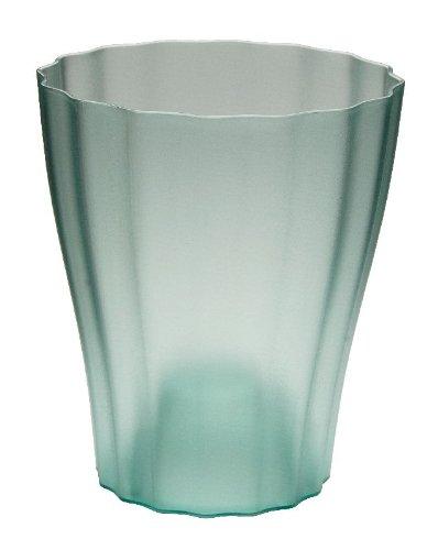 Terra Kunststoff Orchideenvase, Grün, 15 cm