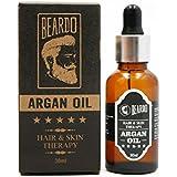 BEARDO Argan Oil for Hair and Skin Treatment Therapy, 30ml