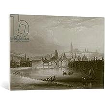"""Cuadro en lienzo: English School """"Prague"""" - Impresión artística de alta calidad, lienzo en bastidor, 100x65 cm"""