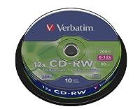 Qui utilise des CD-RW Verbatim? Toute personne qui souhaite stocker, enregistrer ou effacer des données informatiques ou des images. Le CD-RW Verbatim est idéal pour des applications telles que le stockage d'informations personnelles, le stockage d'i...