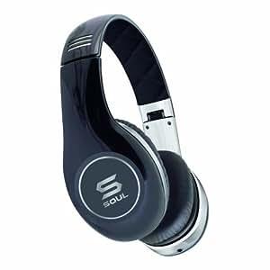 Soul by Ludacris SL150 Pro HD On-Ear-Kopfhörer schwarz/chrom