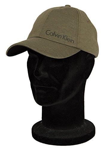 Calvin Klein Leichte Abstandhalter-Baseball-Cap, Khaki Einheitsgröße (Khaki Klein Calvin)