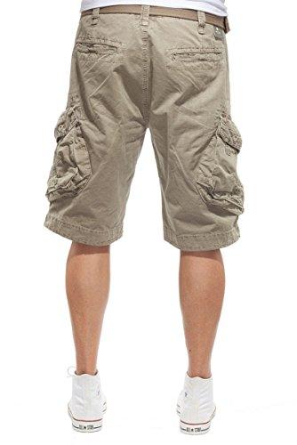 JET LAG Herren Cargo Shorts Take off 3 Modell 16 in schwarz, olive, stone, cement, gold und camouflage Cement