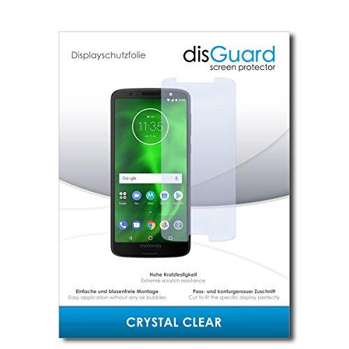 disGuard® Protector de Pantalla [Crystal Clear] compatibile con Motorola Moto G6 [2...